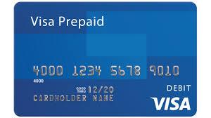 prepaid cards visa