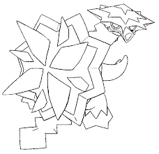Kleurplaten Pokemon Turtonator Kleurplaten Pokemon