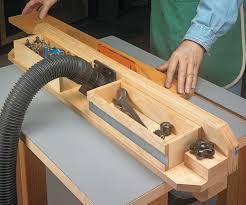 Router Table Fence Storage Woodsmith