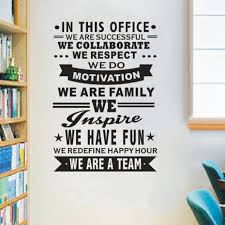 Office Wall Decal Inspire Work Out Quotes Wall Art Vinyl Sticker Removable Poster Diy Stickers For Kids Room Office Home Decor Buy At The Price Of 9 52 In Aliexpress Com Imall Com