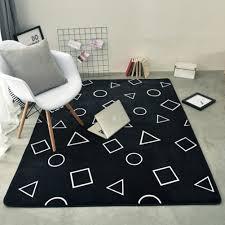 Amazon Com Ukeler Modern Kitchen Floor Runner Rug Bedroom Rugs For Kids Room Carpet Geometry 31 5 X72 8 Home Kitchen