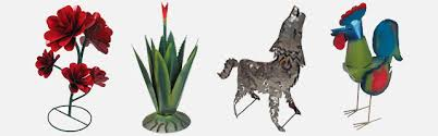 metal yard art garden sculptures
