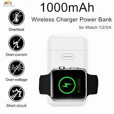 Cục sạc dự phòng mini dung lượng 10000mAh dùng cho đồng hồ Apple Watch  Series 1-4