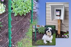 New Above Ground Electric Fence Kit From Woodstream Ideal For Dogs