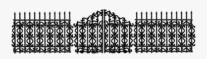 Iron Fence Clipart Broken Gate Clipart Free Transparent Clipart Clipartkey