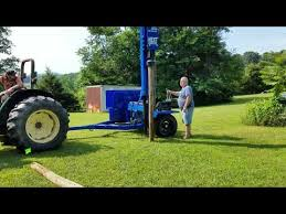 Next Generation Fence Post Driver Trailer Model Youtube