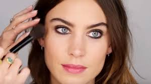 night out makeup look with alexa chung