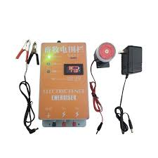 Hot Promo 7ae3 20km Solar Electric Fence Energizer Charger High Voltage Pulse Controller Breeding Xsd 280d With Alarm Animal Electric Fence Cicig Co