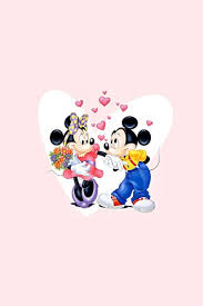 mickey and minnie valentines couple
