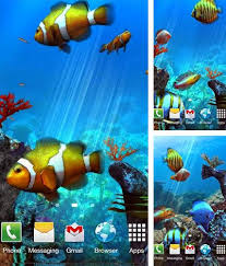 android aquariums live wallpapers