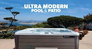 home ultra modern pool patio