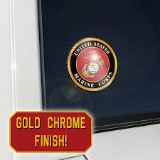 United States Marine Corps Logo Place Anywhere Decals Decalcomania
