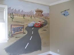 Hand Painted Wall Murals Stencils For Kids Room Homescorner Com