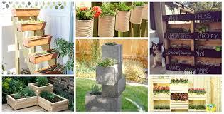 7 unique diy garden planter boxes