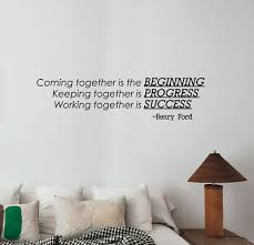 Henry Ford Quote Wall Sticker Business Inspirational Words Vinyl Decal Decor Fq3 Ebay