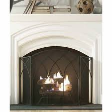 fake fireplace screen