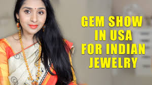 gem show in usa for indian jewelry