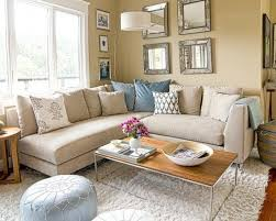stylish beige couch living room idea