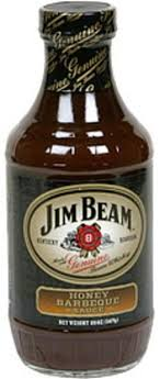 jim beam honey barbeque sauce 20 oz