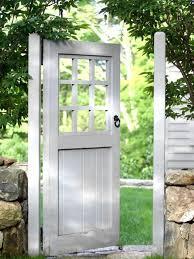 lovely garden door great alternative