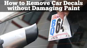 How To Remove Car Decals Without Damaging Paint Different Methods Best Diy Bedliner