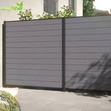 Outdoor Wpc Fence Plastic Slats And Fence Panels For Decoration Buy Wpc Fence Plastic Slats Fence Plastic Slats Decorative Metal Fence Panels Product On Alibaba Com