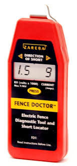 Fd1 Fence Doctor Red Snap R Electric Fencing Systems