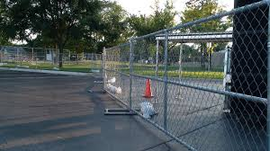 Temporary Fence Rental Construction Big Jerry S Fencing Nc Fl