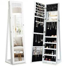 standing jewelry armoire