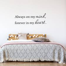 Always On My Mind Forever In My Heart Wall Quotes