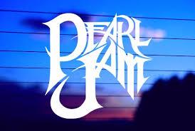 Pearl Jam Car Decal Sticker