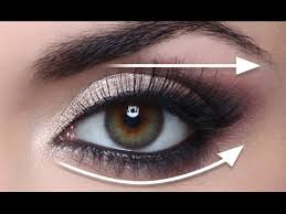 straight line technique for hooded eyes