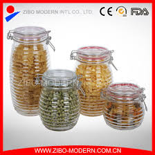 china whole glass jar with sealing