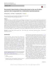 fluorometric determination of