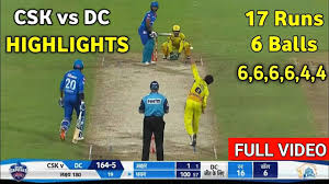 IPL 2020 DC VS CSK FULL HIGHLIGHTS ...