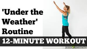 12 minute under the weather workout