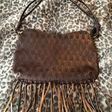 two old hippies bags leather fringe
