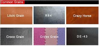 custom black color round pu leather