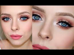 affordable prom makeup look