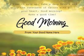 good morning wishes card pictures with