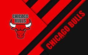 chicago bulls logo 4k ultra hd