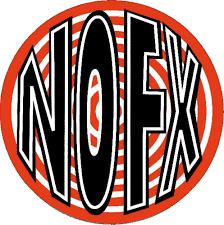 Amazon Com Nofx Round Red White Logo Large Jumbo Vinyl Sticker Decal Automotive