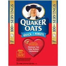 quaker instant oatmeal sari