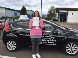 Sophie Newman Passed her Driving Test on 31st August