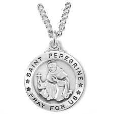sterling silver round st peregrine