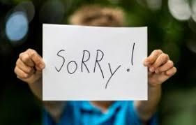 ungkapan minta maaf dalam bahasa inggris selain kata sorry