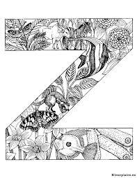Alfabet Dieren Kleurplaat 74864 Kleurplaat