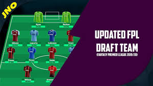 UPDATED FPL DRAFT | FANTASY PREMIER LEAGUE 2019/20 | LOOKING AT  ALTERNATIVES - YouTube