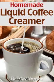 liquid coffee creamer recipe living