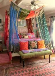 diy hippie crafts make a canopy over